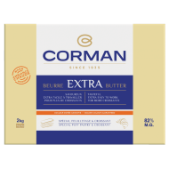 Extra Butter warm environment 82 % fat - Sheet