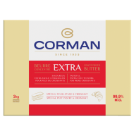 Extra concentrated butter 99,9 % fat - Sheet