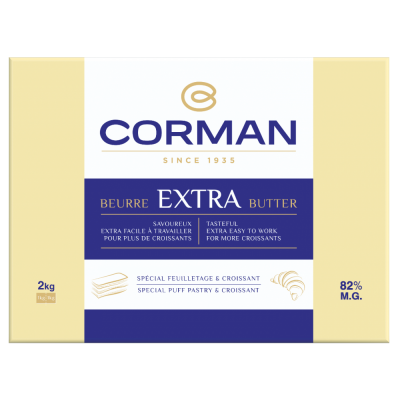Extra Butter 82 % fat - Sheet