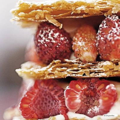 The mille-feuille from Yann Duytsche