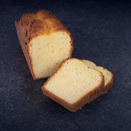 Cake with roasted butter