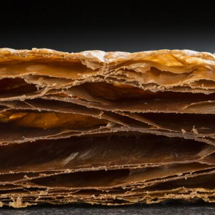 Cocoa puff pastry